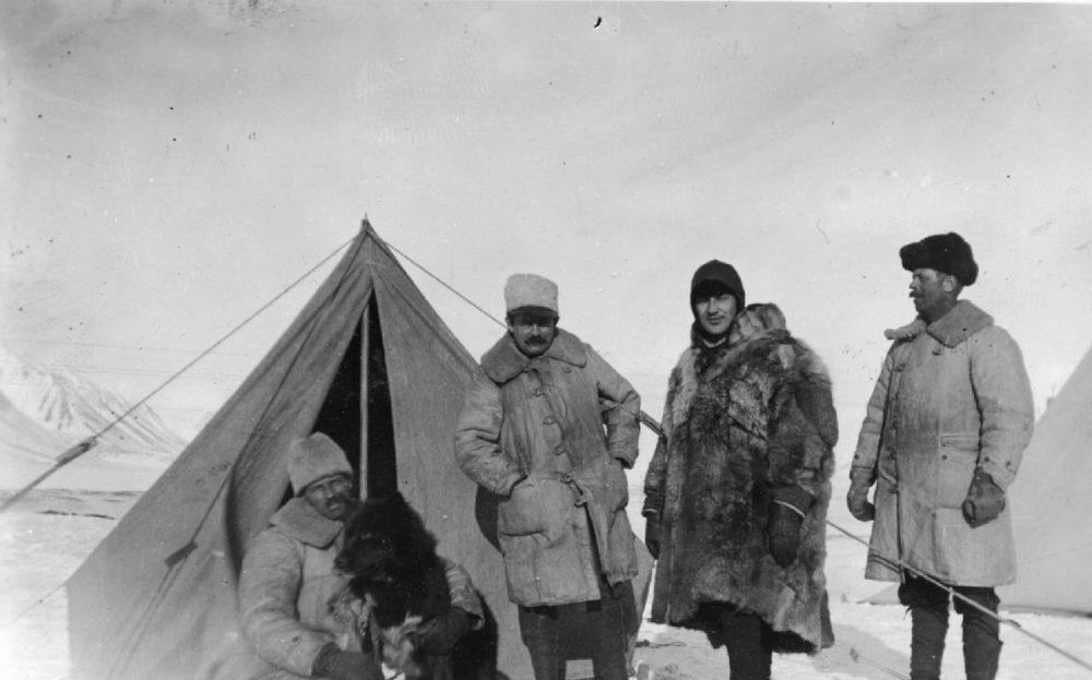 North Pole Camp Spitsbergen