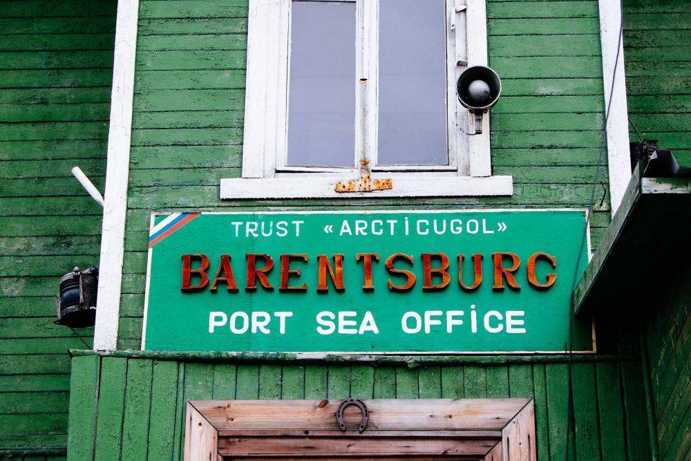 Barentsburg Spitssbergen