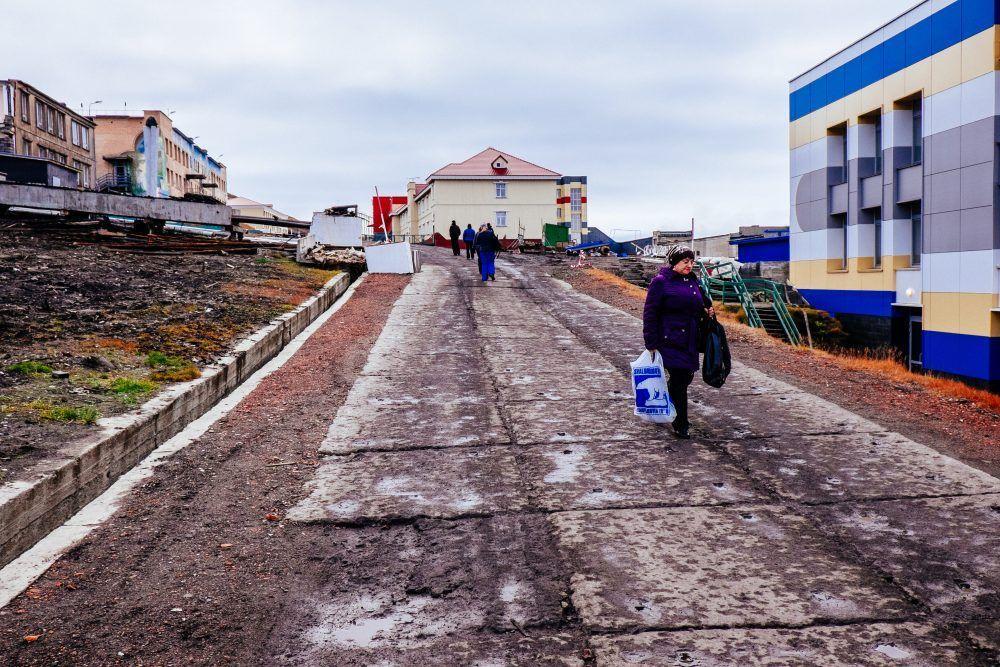 Barentsburg Autumn