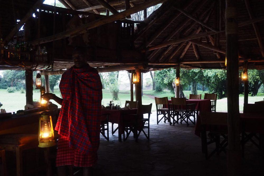 Dining tent at Basecamp Masai Mara Kenya