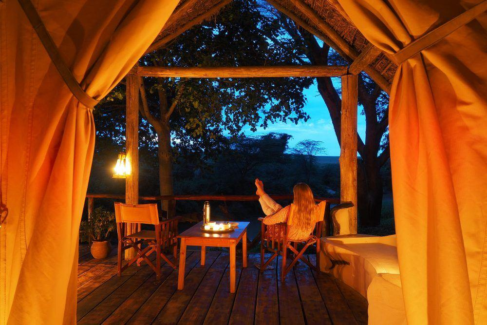 Riverside Tent at Basecamp Masai Mara Kenya