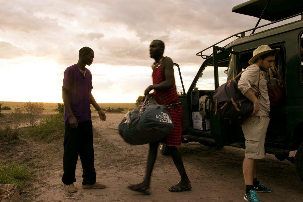 Basecamp Masaia Mara Arrival