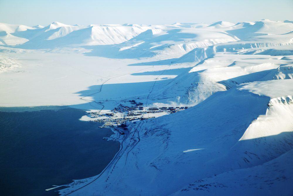 Longyearbyen Spitsbergen Winter
