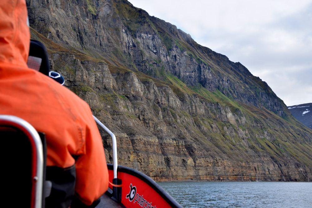 Båt safari Svalbard