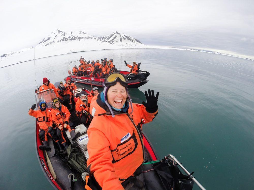 Boat Safaris Spitsbergen