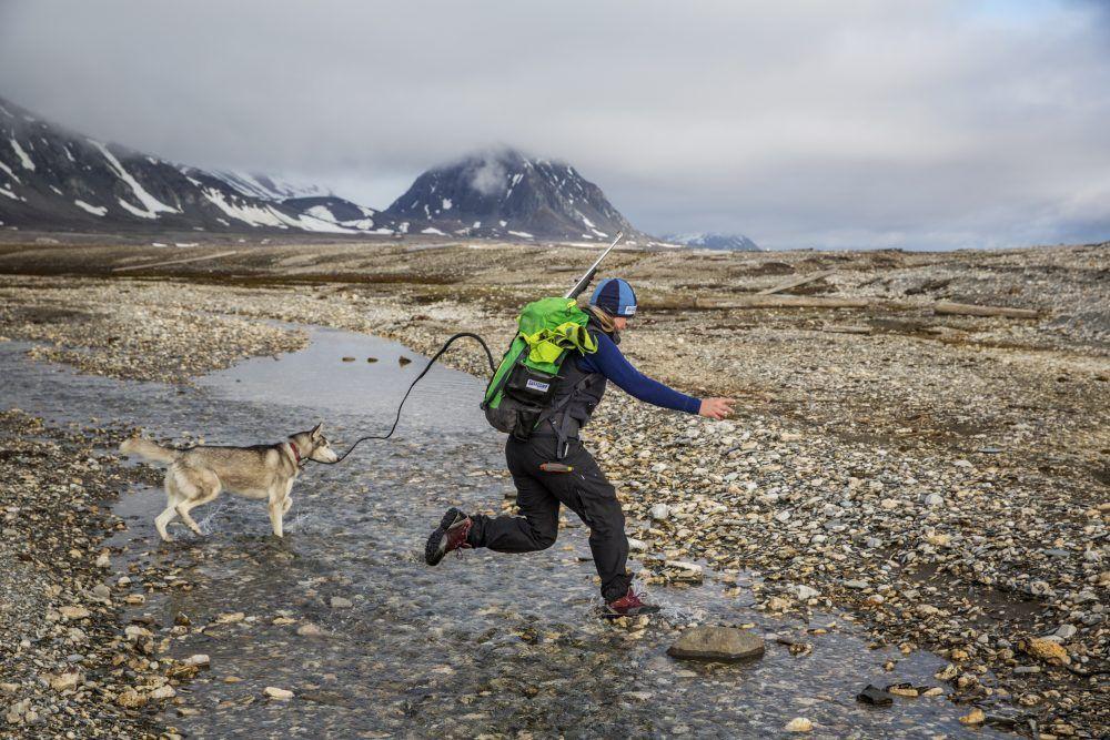 Gåtur Svalbard