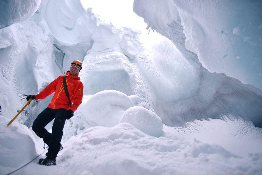Ice Cave Advnture in Spitsbergen