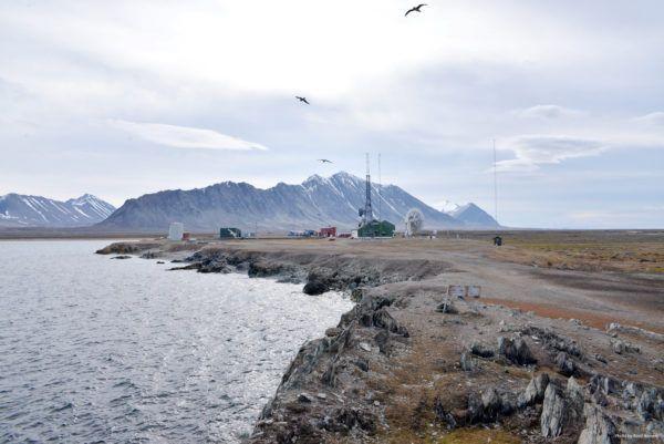 Isfjord Radio, Photo by Kirsti Ikonen