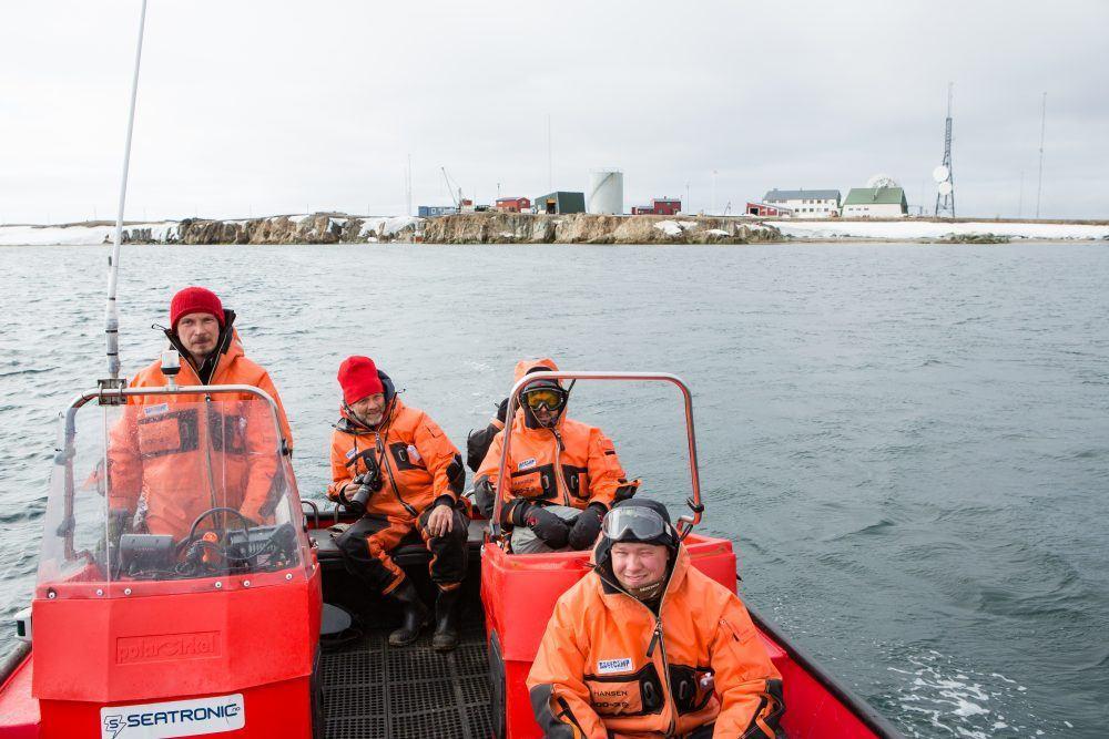 Båt safari Isfjord Radio
