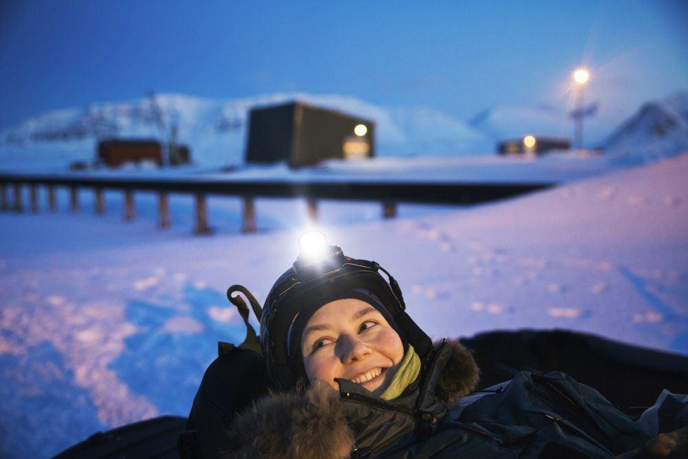 Isfjord Radio Polar Night