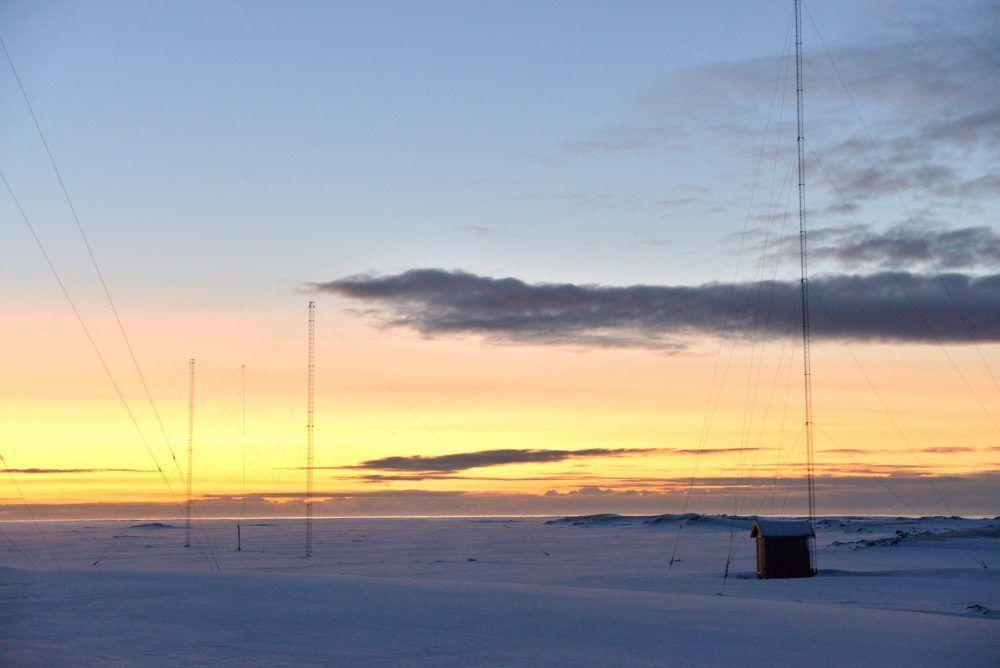 Isfjord Radio Return of the sun