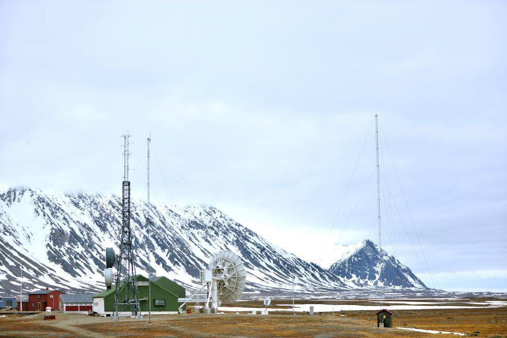 Isfjord Radio sommer