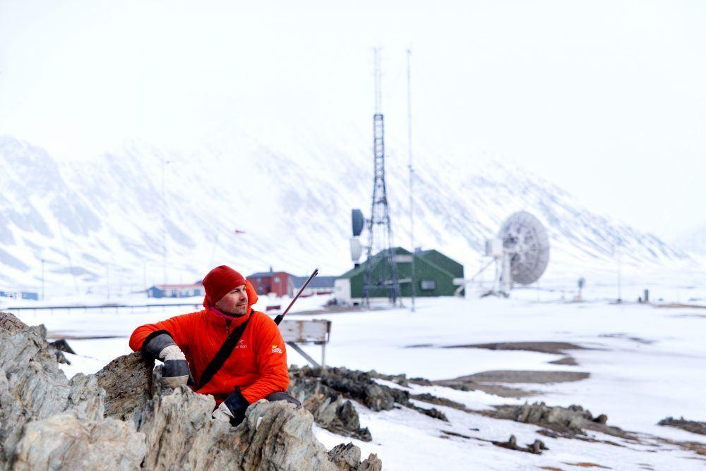 Isfjord Radio Winter