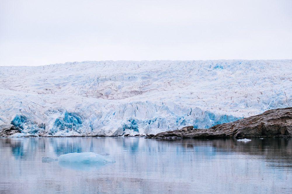Nordenskiold Glacier Spitsbergen