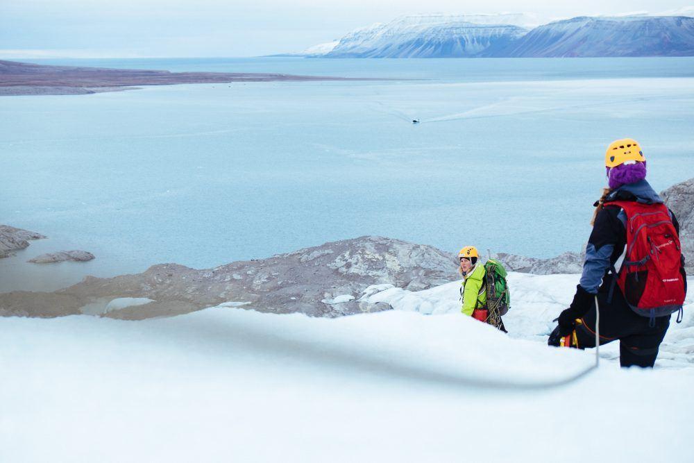 Nordenskiold Glacier Hiking Spitsbergen