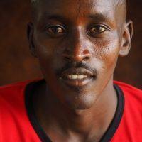 Portrait photo of Maasai guide.