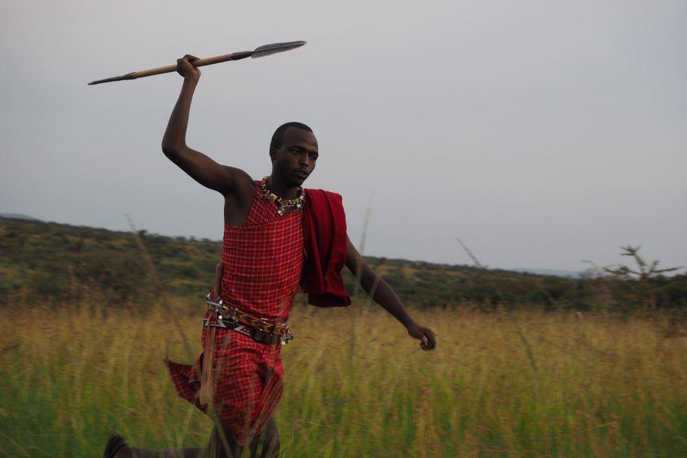 People Masai Mara Kenya