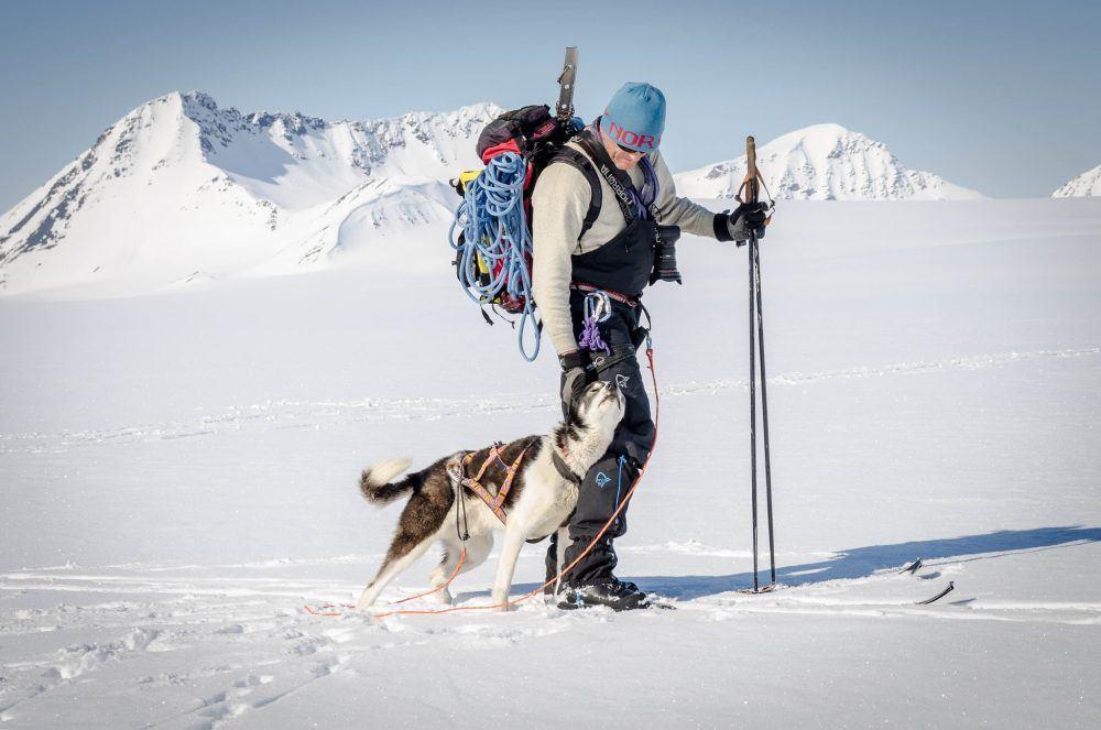 Skitur nord camp Svalbard