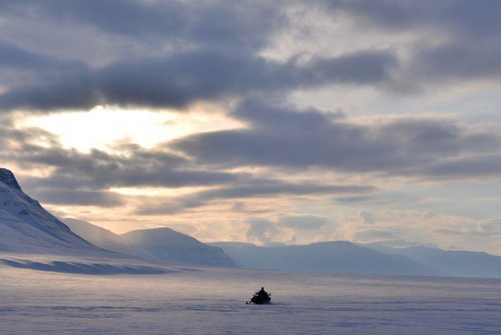 Snowmobiling Spisbergen