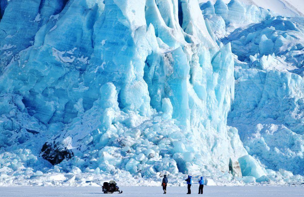 Snowmobiling Nordenskiold Lodge Spitsbergen