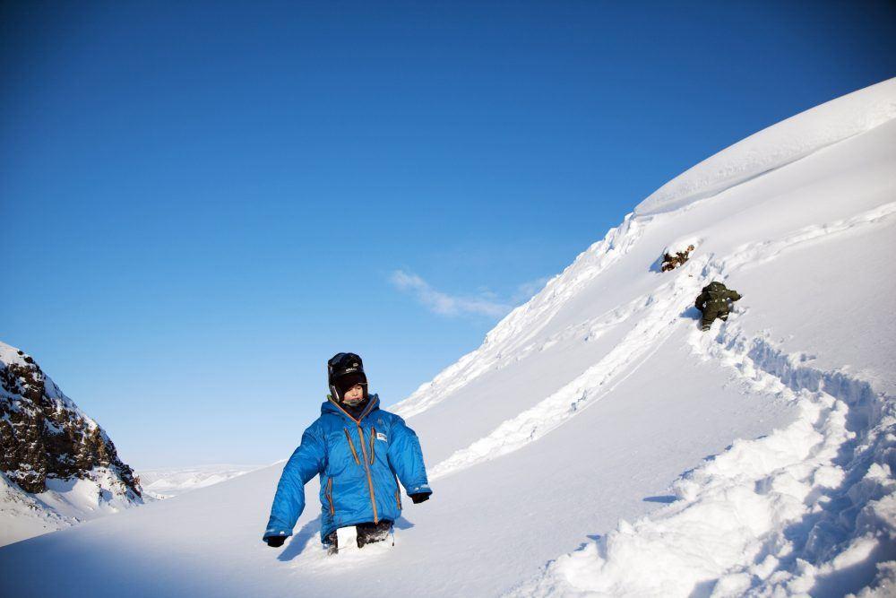 Snøscootertur Svalbard