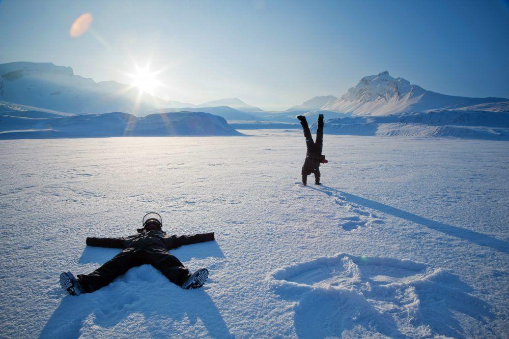 Snøscooter tur Svalbard