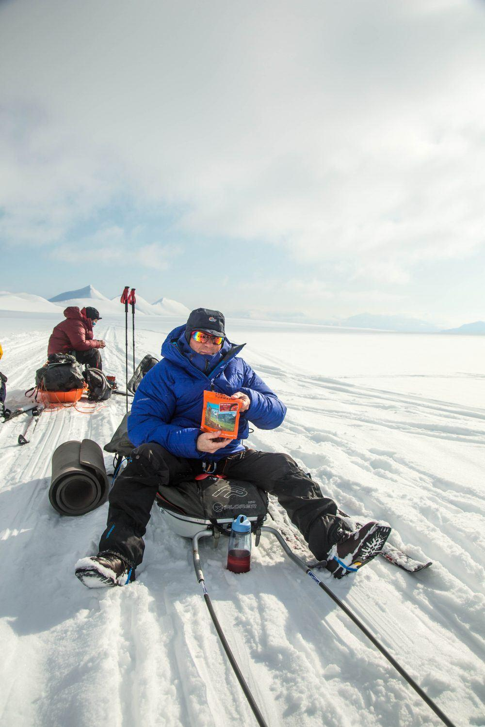Skiing Spitsbergen East to West