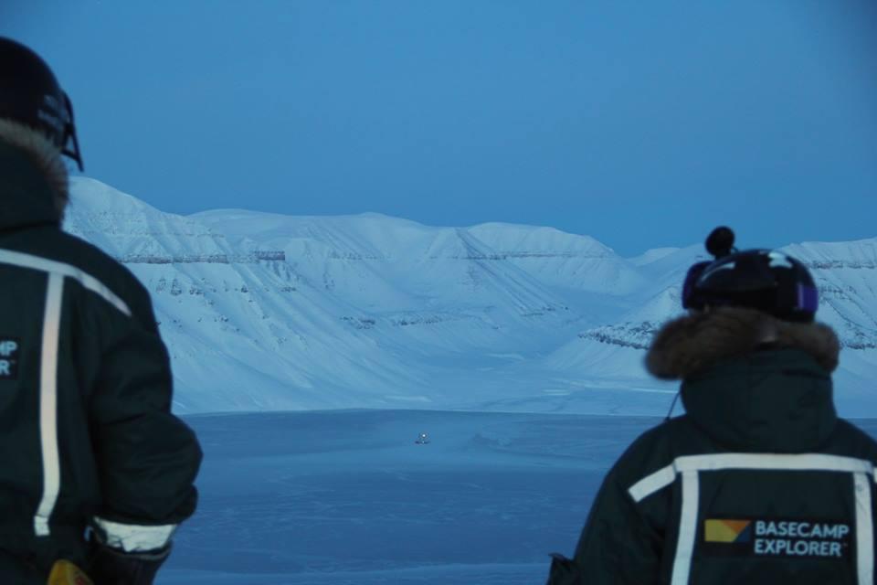 Svalbard Båten i Isen
