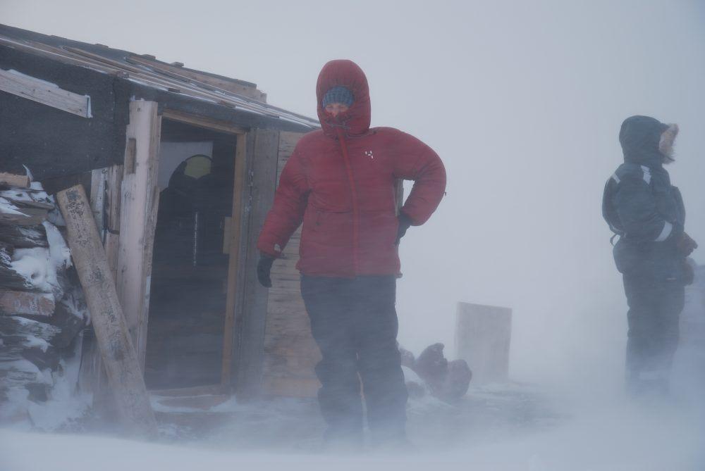 Svalbard snøstorm