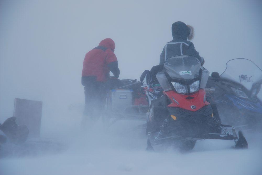 Svalbard Snøstorm1