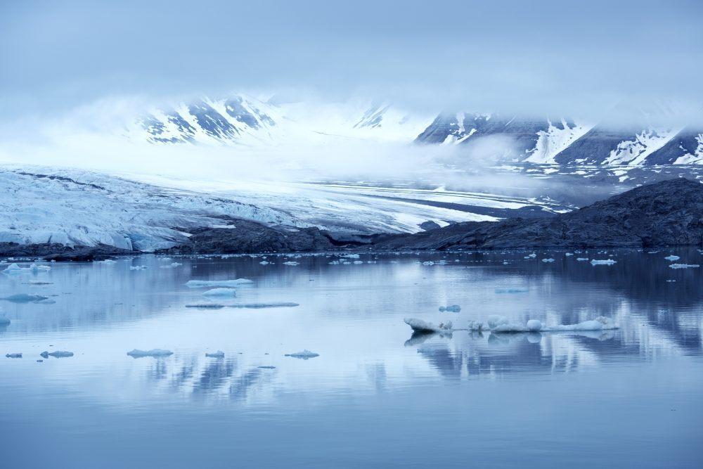 Svalbard Sommer Isbre