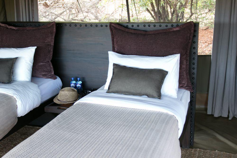 Double tent at Wilderness Camp Mara Naboisho Kenya