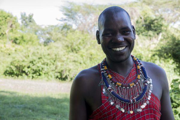Basecap Explorer Kenya Maasai staff.
