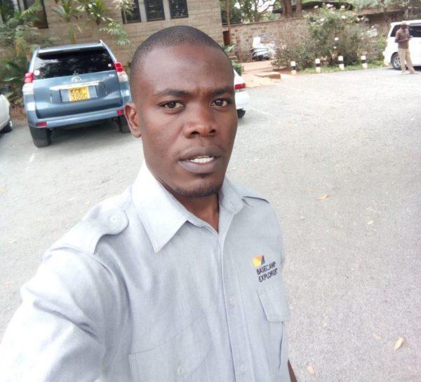 Basecamp Explorer Kenya staff driver.