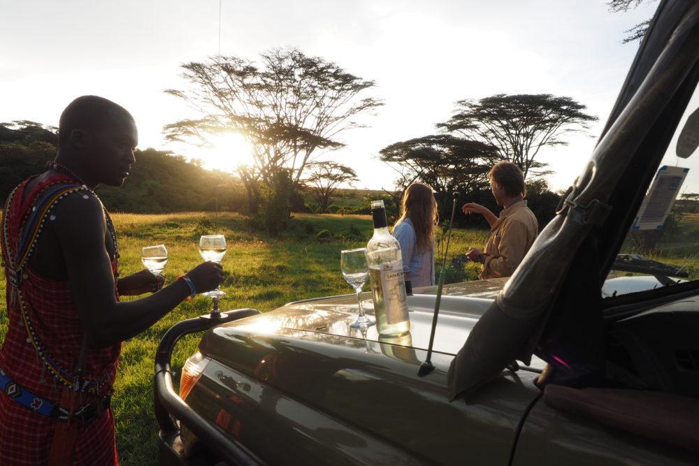 Sundowner-masai-mara