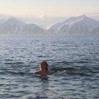 Arctic swim