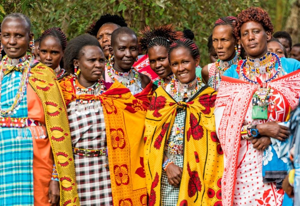 Maasai women working at Basecamp Masai Brand